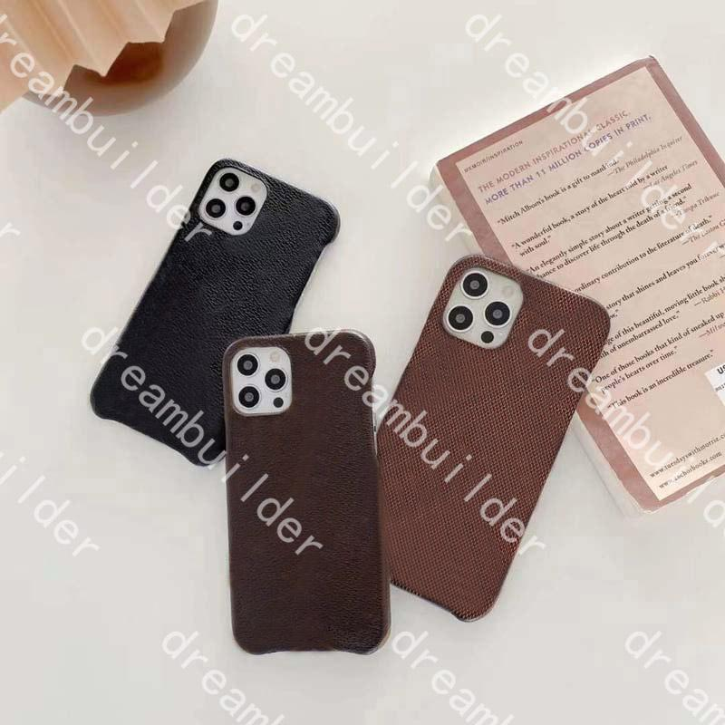 L Casos de telefone de moda para 12 pro max 12mini mini 11pro 11promax 7 8 mais x xs xr xsmax plutos case de couro desenhador capa protetora