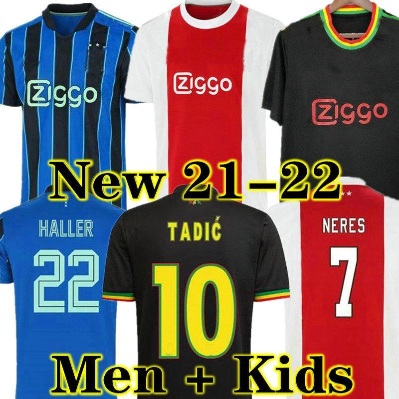Klaassen Männer + Kinder Tops Tadic Haller Fussball Jersey Fans Spieler Version 21 22 Álvarez Amsterdam Camiseta Fútbol Neres 2021 2022 Antony Cruyff Maillot de Foot Promes