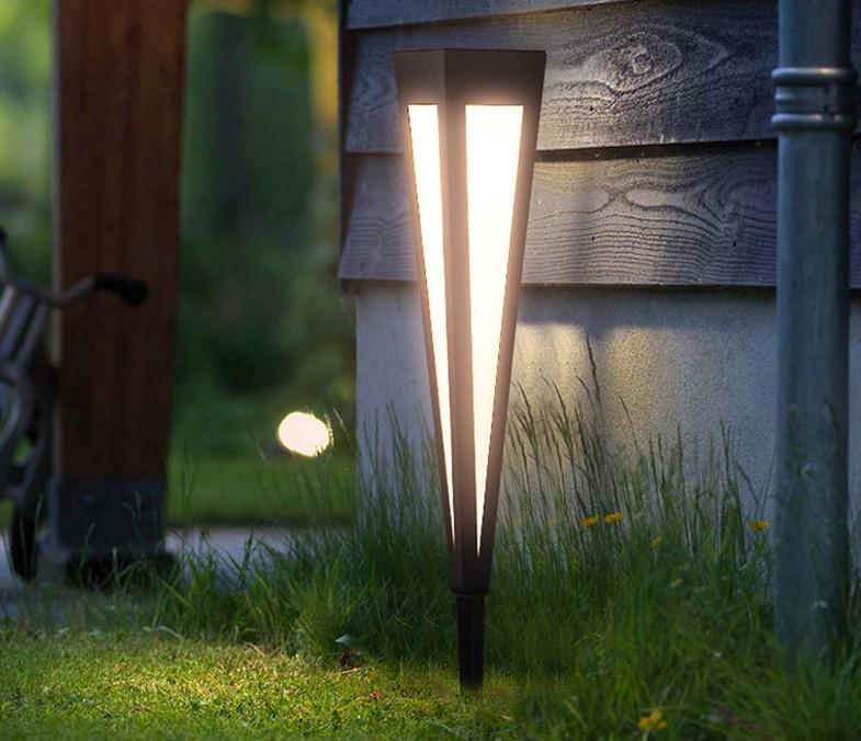 Nordic outdoor lawn lamp park villa garden led waterproof engineering lighting