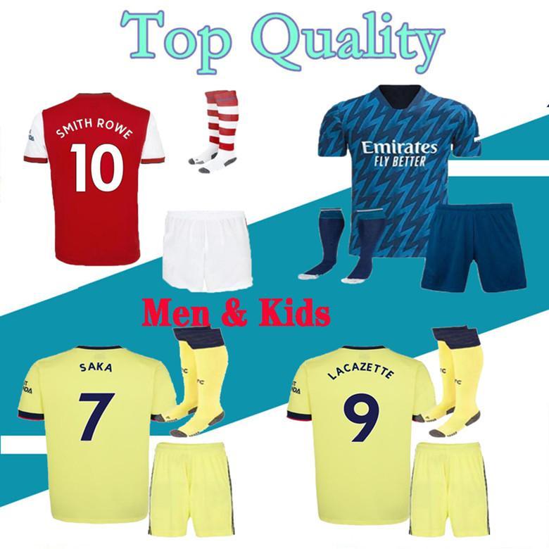 TIERNEY hommes et enfants 20 21 Arsenal jersey  maillot de foot CEBALLOS HENRY Maillot de football 2019 2020 DAVID LUIZ de pied de MAILLOT ensembles de gardien kit adulte