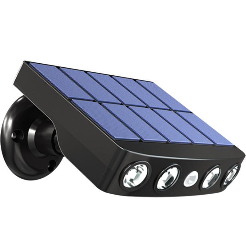 Солнечный PIR датчик движения свет на открытый сад безопасности стены высокого качества простые и прочные теплые фонары F4