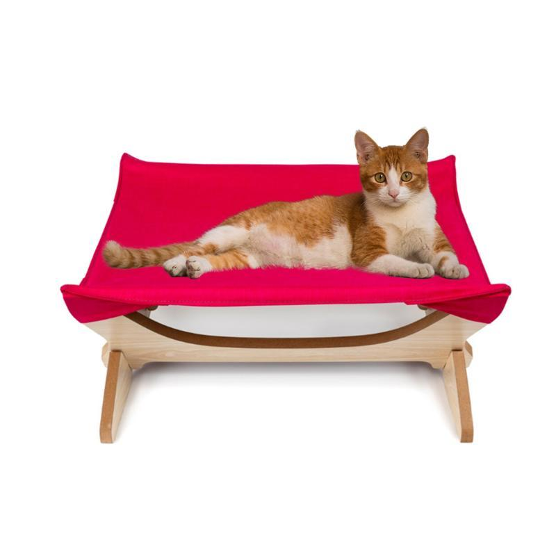Cat Beds & Furniture Pet Products House Sleeping Bag 2 Story Level Hammock Cage Hanging Bedding