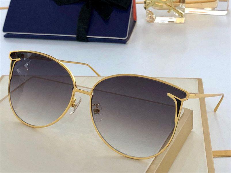Summer Sunglasses For Women style 0798 Anti-Ultraviolet Retro Plate Full Frame fashion Eyeglasses Random Box