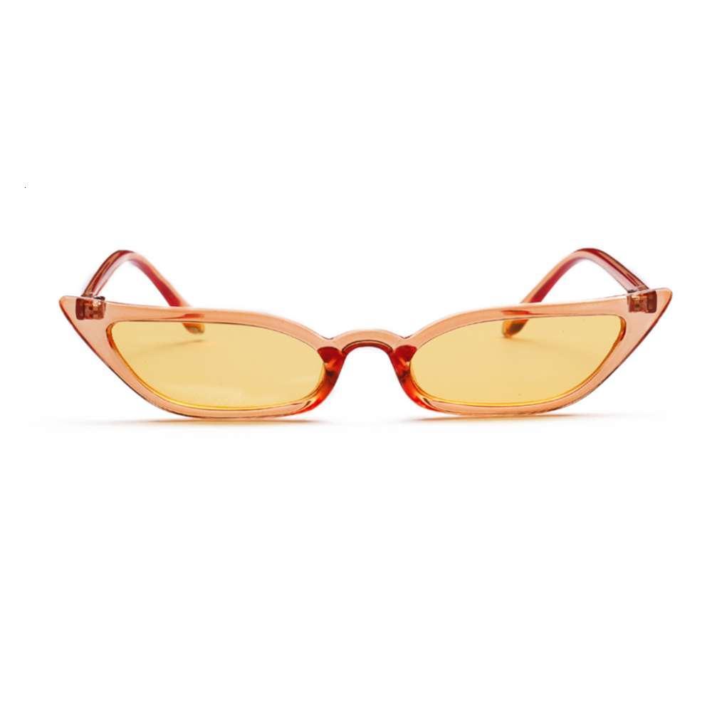 UV400 Sun Shad Mulheres Vintage Gato Olho Olho Moda Quadro De Vidro Rua Eyewear Luxo Trending SunglasskJ9B
