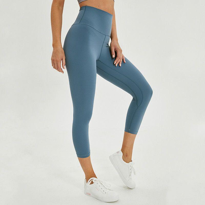 Jocelyn Katrina 2.0 amanteigada - macia nua-sensação atlética aptidão cpari calças mulheres Quatro vias Ginásio Stretchy Yoga esporte colhido calças justas