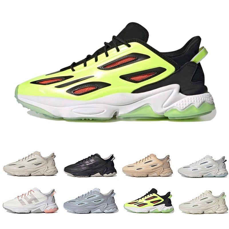 Multicolore Cuir ozweego celox hommes femmes chaussures de sport triple nuage noir blanc sable rose rouge hommes femmes formateurs baskets de sport jogging marche 36-45