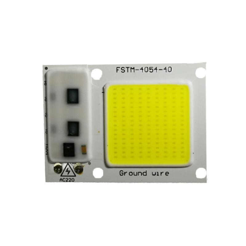 Украшение партии 220 В Светодиоды Прожекторы COB COB 20W 30W 50W Вход вход Встроенный Умный IC Great Cool