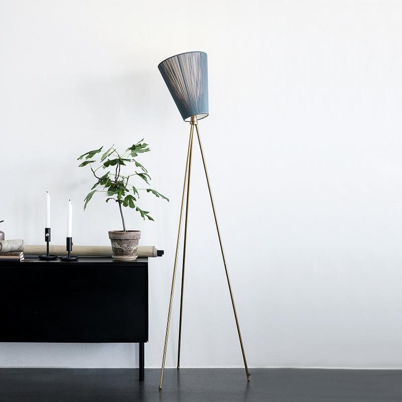 Nórdico moderno lâmpada de lâmpada de lâmpada de ferro lâmpadas para sala de estar quarto decoração luz luminárias em pé