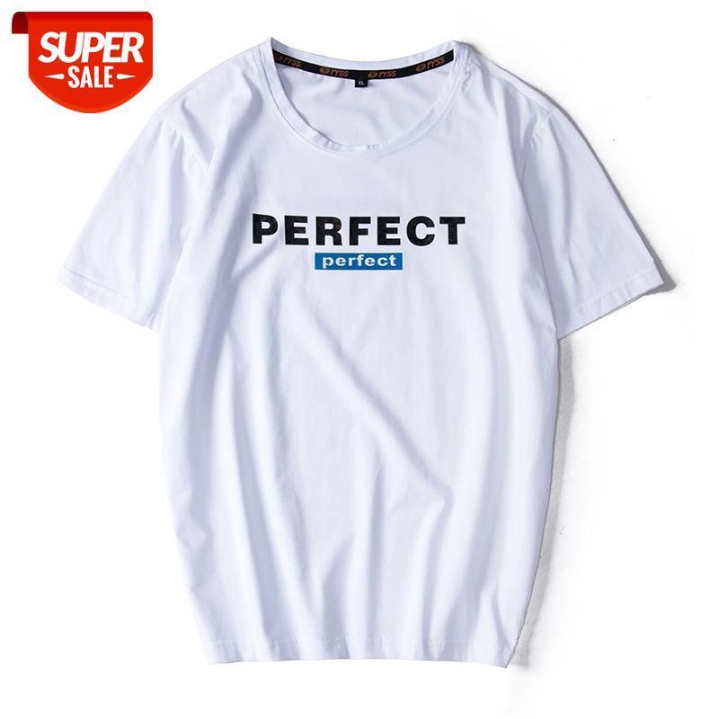 Hio Hop Loose Mens camisetas Fashion 2021 Verão Mangas Curtas Preto Branco Vermelho T-shirt T-shirt Plus Asiático Oversize L-6XL 7XL 8XL 9XL # ZQ5S