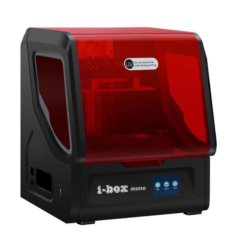 Printers QIDI I-Box UV Resin 3D Printer 8.9 Inch 4K LCD / 3.5 Touch Screen 192*120*200mm Large Build Volume 20mm/h