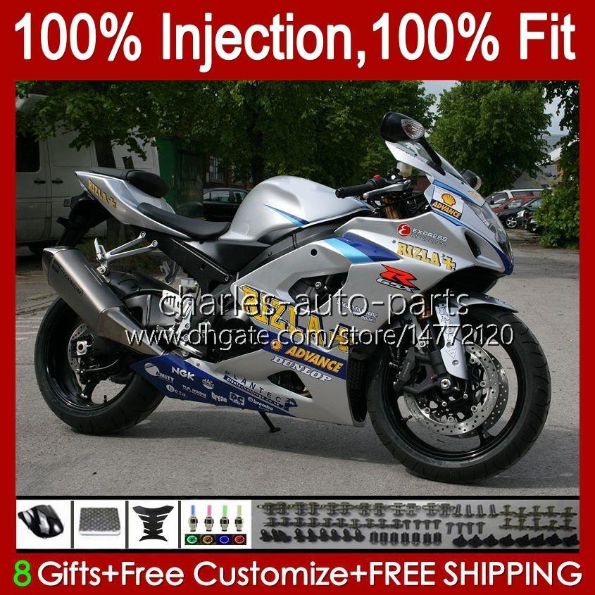 鈴木GSXR 1000 GSX-R1000 GSXR1000 2005 2006 Body 11H.80 GSXR-1000 05 06 K5 Bodywork Bacardi BATS GSX R1000 05 06フェアリング