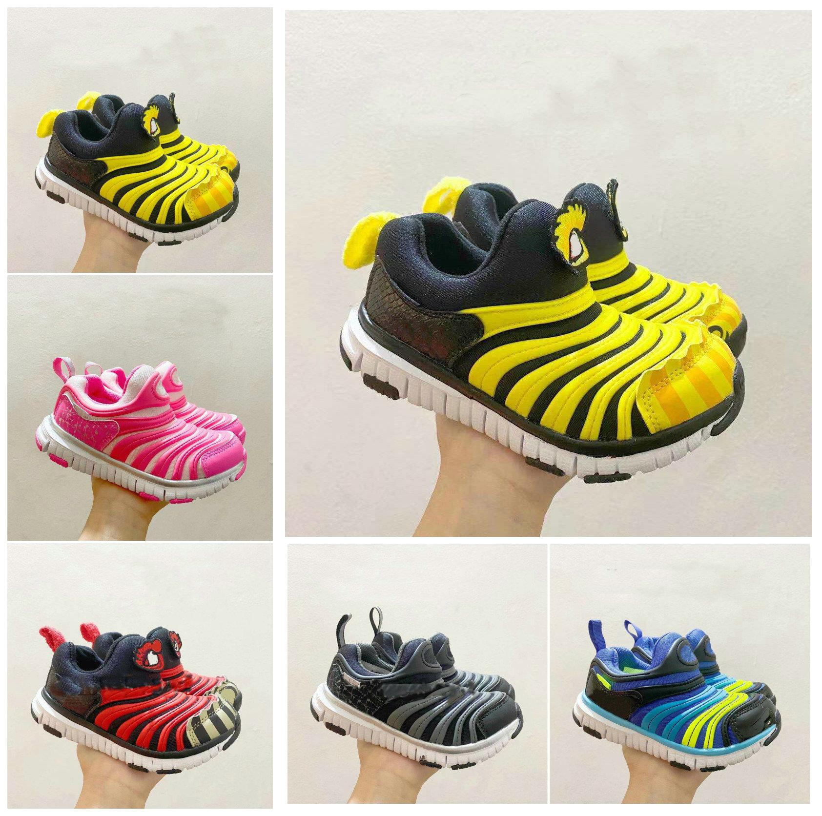 boys girls kids Designers Athletic Outdoor Running shoes Kanye Toddlers Trainers Basketball Sneakers children Sports Casual Sneaker