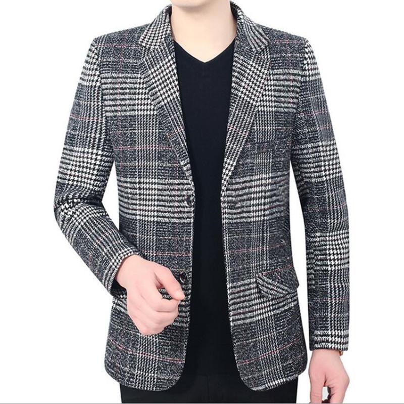 Abbigliamento da uomo Blazer Blazer Cappotti Abbigliamento da Business Casual Casual Cappotto