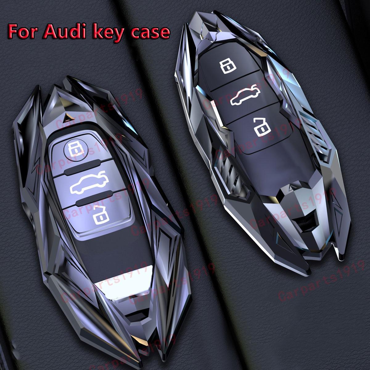سيارة مفتاح القضية غطاء قذيفة فوب ل أودي A1 A3 Q2L Q3 S3 S5 S6 R8 TT TTS 2020 Q7 Q5 A6 A4 A4L Q5L A5 A6L A7 A8 Q8 S4 S8 الملحقات