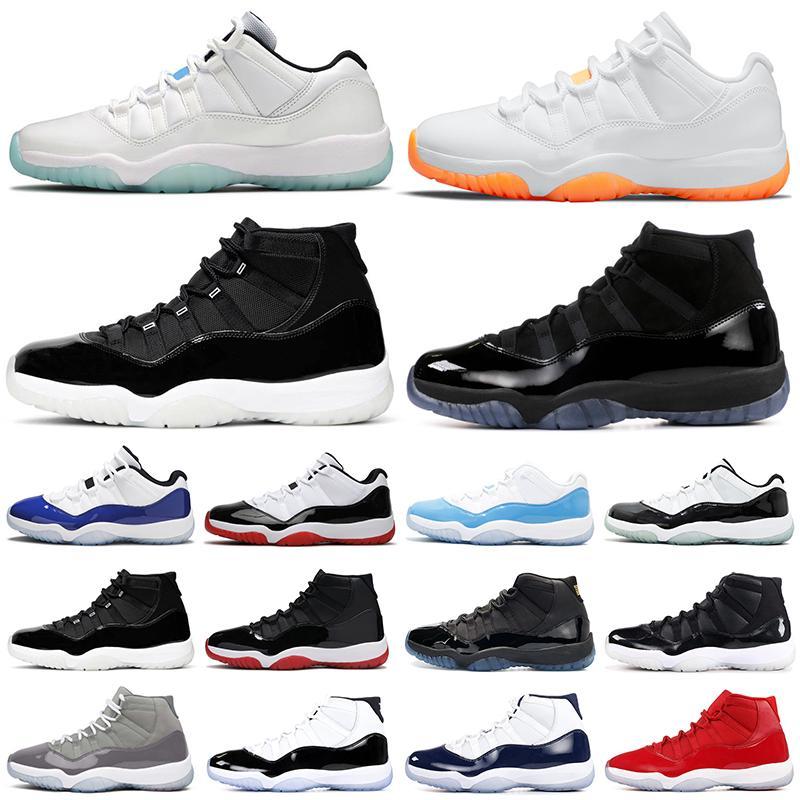 11s Hombres Zapatos de baloncesto Jumpman 11 25 aniversario Citrus Legend Blue Cred Concord High Low Top Mujeres para hombre zapatillas deportivas
