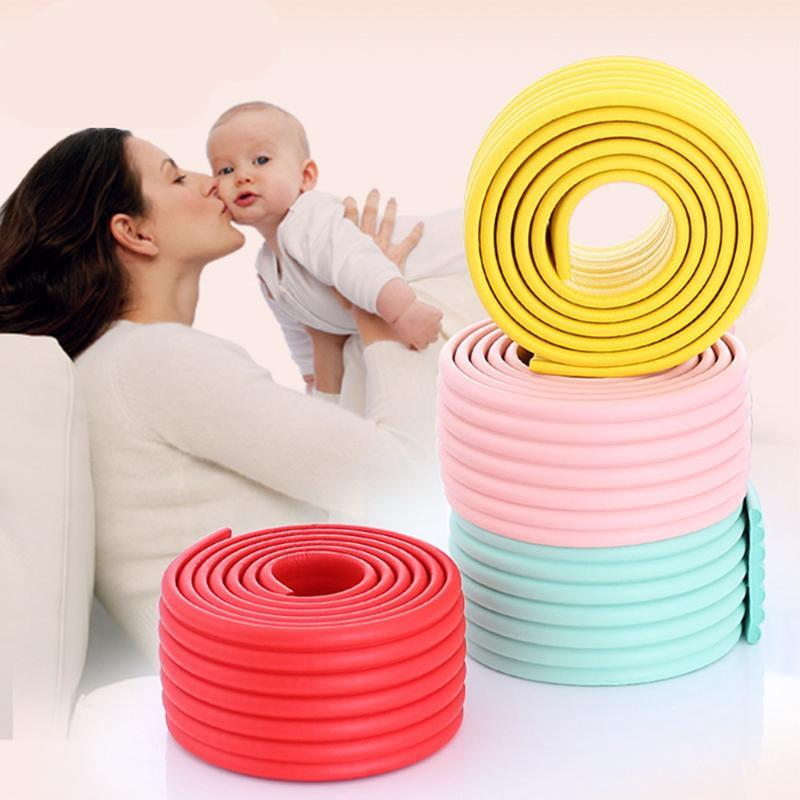 Corner&Edge Cushions Baby Guards Bar 2 Meters Protector Anti-collision Punbr Table Angle Supplies Safety Protection Edge