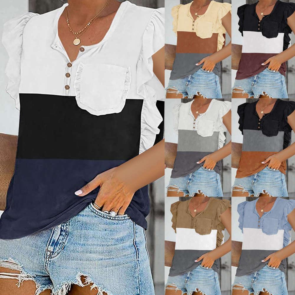 Blusas Plus Size Summer Product Feminino Impresso Top Graphic T Camisas Mulheres T-shirts 2021 Mulheres Moda Roupas