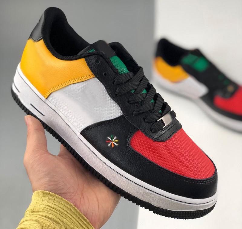2021 Novo Sunburst para Homens Mulheres Amante Corte Baixa Skateboarding Sapatos Aéreis Skate Sapatos Tamanho EUR36-45