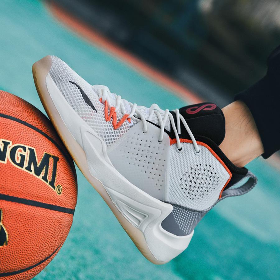 James 14 Yeni Basketbol erkek Asker Yüksek Üst Öğrenci Çift Spor Ayakkabı Büyük SQWB