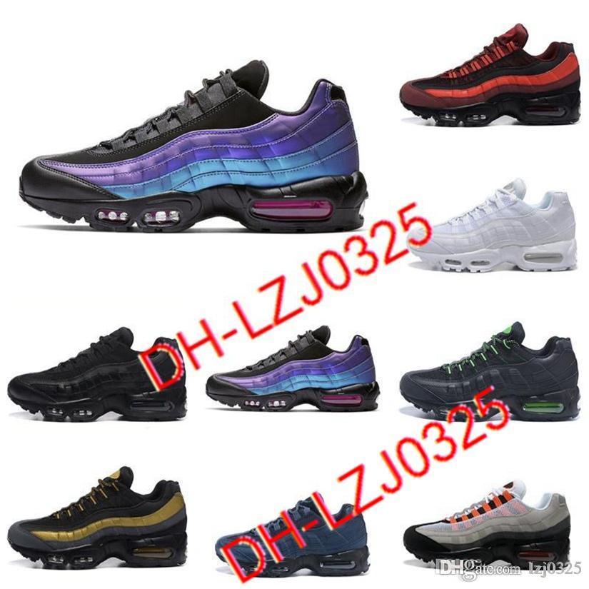 95 Zapatos para mujer para hombre Chaussures 90 clásico negro rojo blanco deportes entrenador de deporte cojín transpirable deporte zapatillas zapatillas dhx-h6