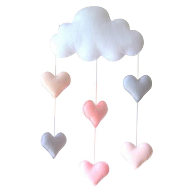 Encantador Cloud Tent Wall Cuelga Decoración Juguetes Kids Habitación Decoración Po Precios Objetos decorativos Figuras