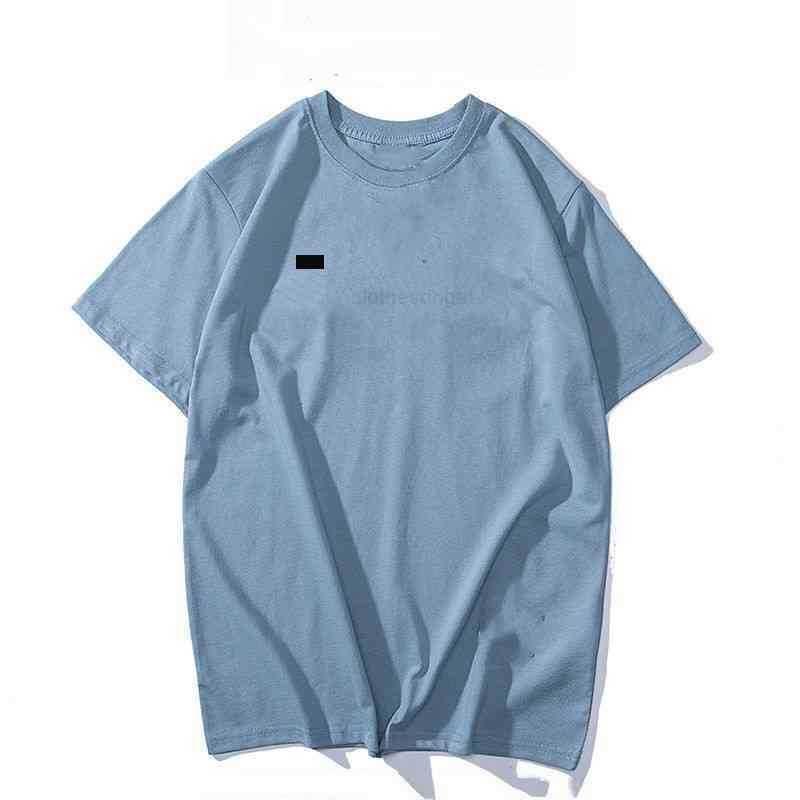 Verão Camiseta Tide Mens Famoso Designer Impressão de Manga Curta Bordado Bordado Preto Branco Top 15 Estilos Solto Masculino e Womens Roupas