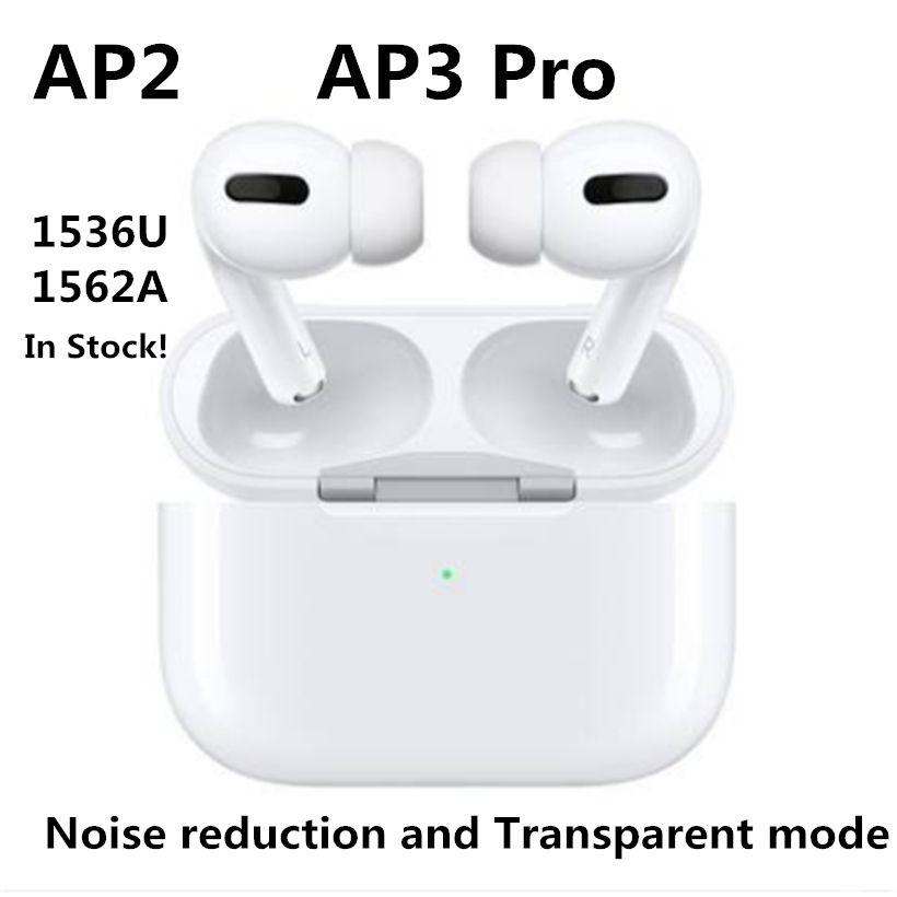 에어 겐 3 무선 이어폰 헤드셋 TWS 충전 Rename GPS Bluetooth 헤드폰 PK 포드 2 AP Pro AP2 AP3 W1 Jieli 칩 이어 버드 2 세대
