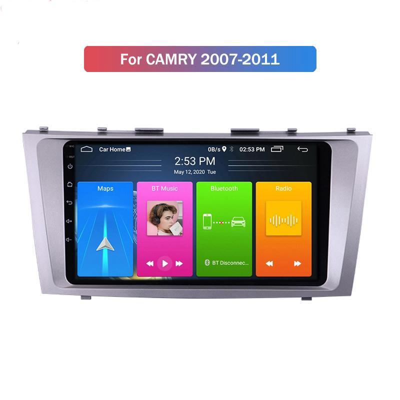안드로이드 자동차 DVD 플레이어 Toyota Camry 2007-2011 라디오 멀티미디어 비디오 네비게이션 GPS 이중 DIN 스테레오