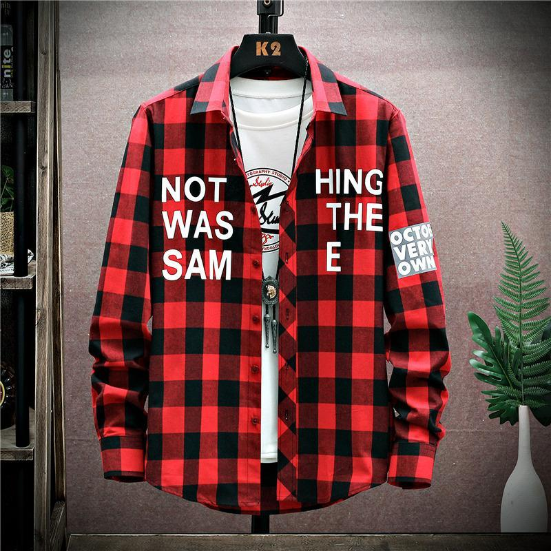 봄과 가을 의류 소년 트렌드 셔츠 13 젊은 잘 생긴 캐주얼 재킷 15 살짜리 중학교 학생 남성 셔츠