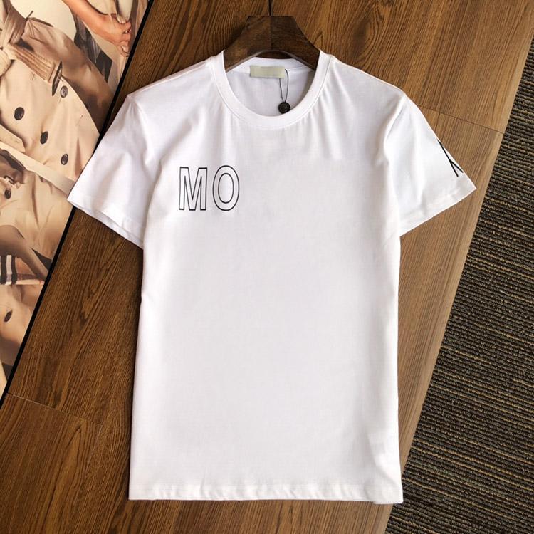 2021 Diseño para hombre para mujer Camisetas para hombre 100% algodón Camiseta de moda Top TEES CALIDAD STREET STREET MANGUE LUXURYS TSHIRTS Asiáticas M-2XL