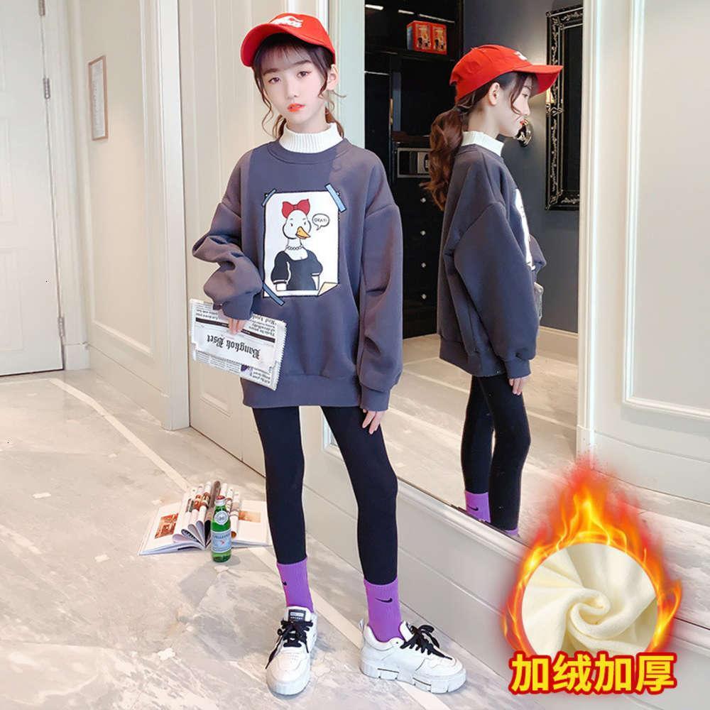 Enfants Litternesswinter Dessin animé Pull Chaud Pull Coatine Pour Enfants Pull coréen