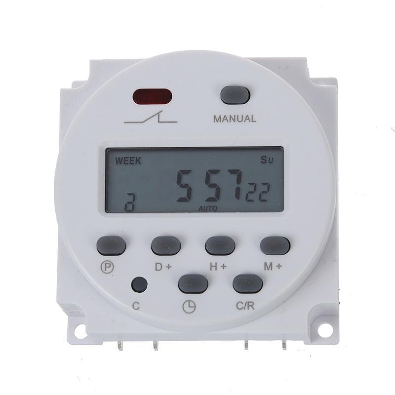 Interruttore, LCD digitale, programmabile programmabile, AC 220V-240V, 16A TIMERS