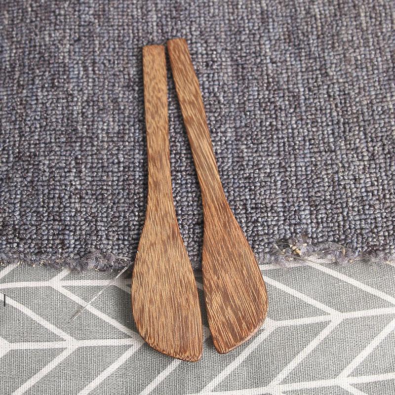 Couteau de masque en bois Wengé Couteau de beurre de style japonais Marmalade Couteau Couteau Dumpling Crème Couteaux en gros OWF7640