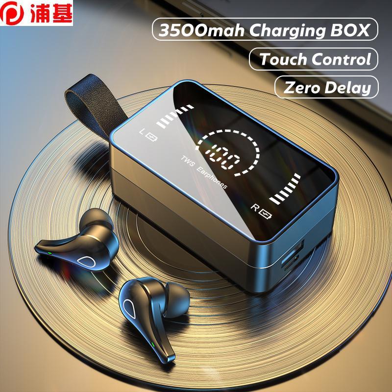 TWS-drahtlose Kopfhörer 3500mAh-Ladebox 9D-Stereo-Sport-wasserdichte Bluetooth-drahtlose Kopfhörer mit Mikrofon für Telefon
