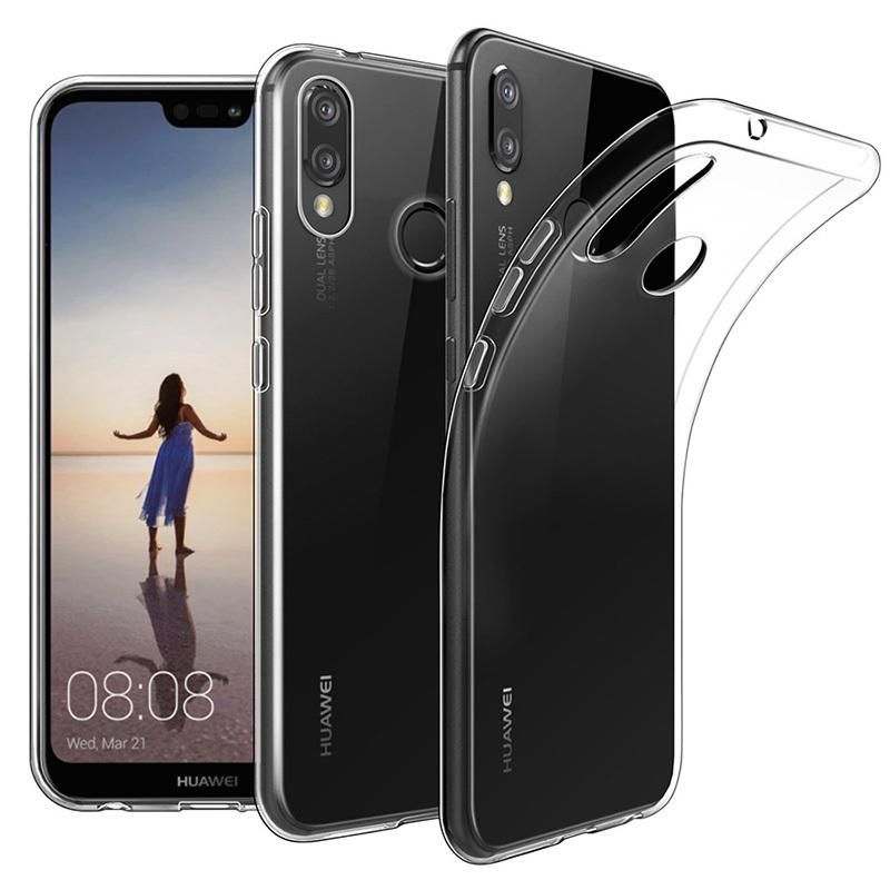 10pcs 0.3mm Soft TPU Gel Shockproof Case For Huawei P40 Pro P30 Lite Mate 30 20 X Nova 7 SE Ultra Thin Clear Transparent Cover