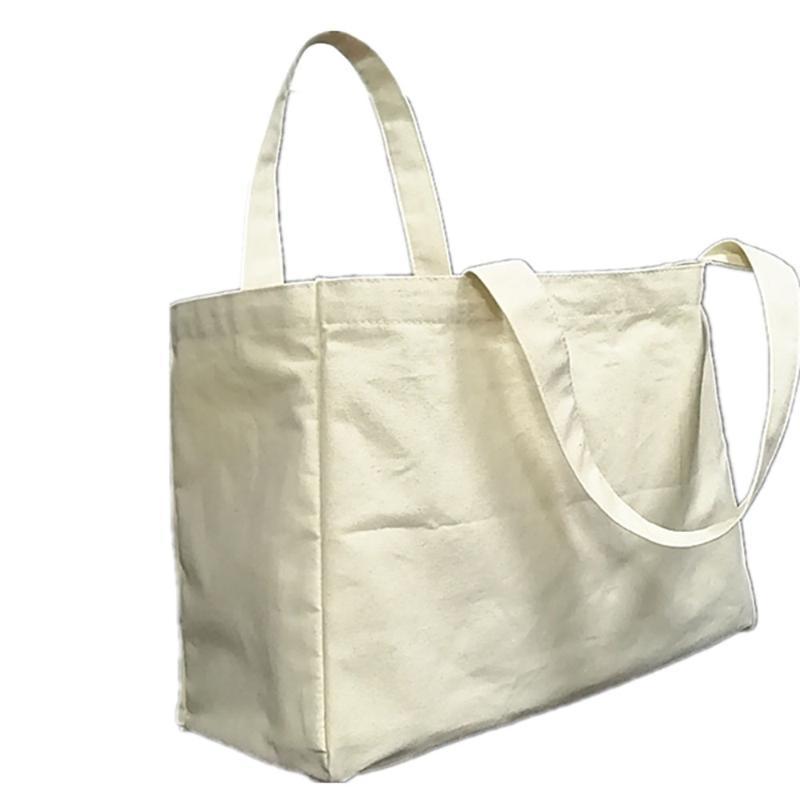 6 세포 과일 및 야채 분류 순수 면화 멀티 그리드 캔버스 쇼핑 가방 휴대용 슈퍼마켓 천을 저장 가방