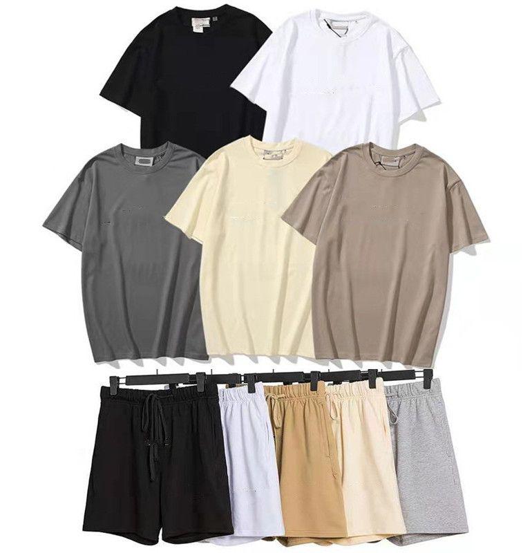 3M Refledique Ess Mens и Womens Tees Polos Мода с коротким рукавом Досуг Футболка Trends Designer Jogger Shorts