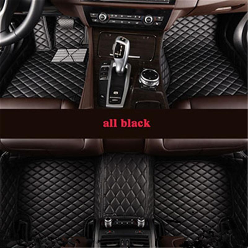 VW Passat B5 B6 B7 딱정벌레 멀티 밴에 맞춤 5 좌석 자동차 바닥 매트