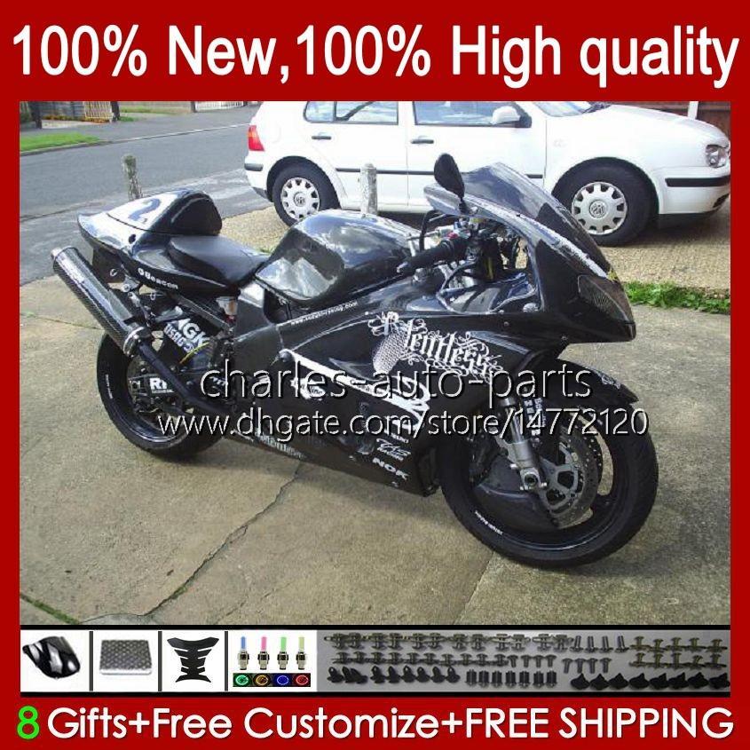 Carrosserie pour Suzuki Srad TL1000R TL 1000R TL1000R TL1000 R 98 99 00 2001 2002 Body d'usine noir 19HC.88 TL-1000R 98-03 TL-1000 TL 1000 R 1998 1999 2000 01 02 03 Kit de carénage OEM