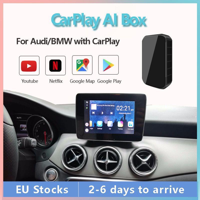 Video AI Box dla Mercedes-Benzes Class Car A / B / C / E / G / s z wbudowaną Carplay, obsługuje Lustir Link Multimedia Android System BT WiFi