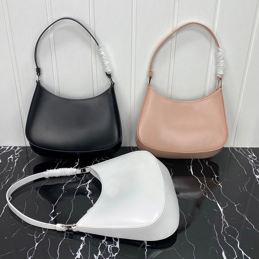 Borse a tracolla di Moda Messenger Donne Donne Cleo Designer Bag Crescent Genuine Pelle Borsa 2021 Spalla Lussurys di alta qualità Okeso