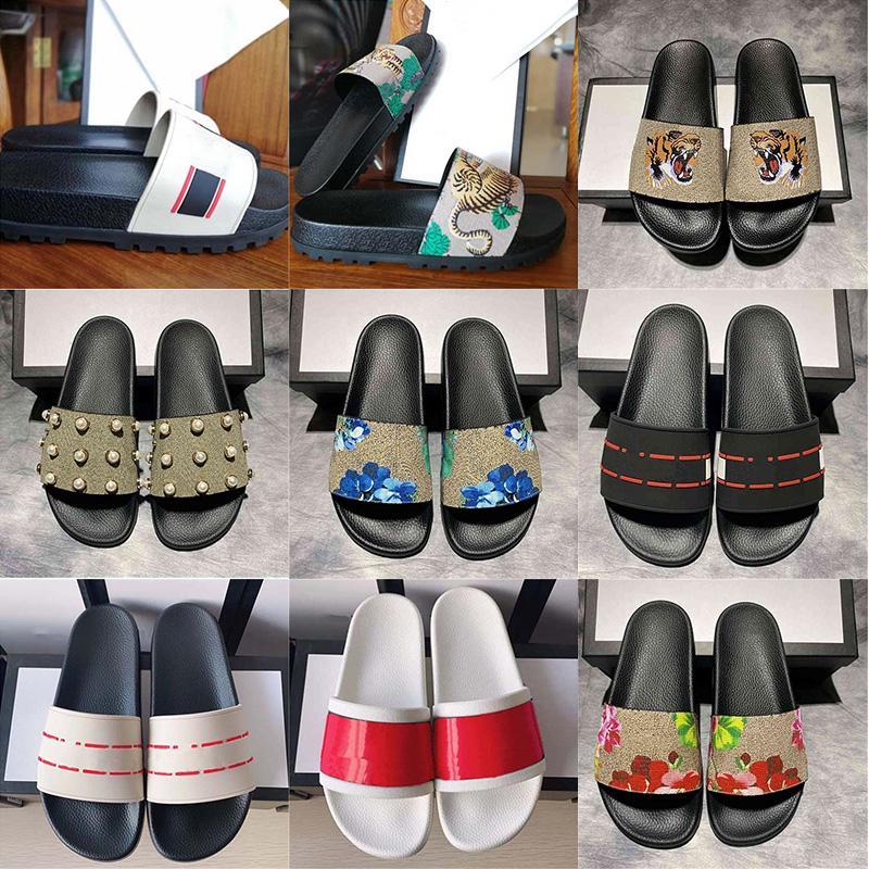 2021 Slaytlar Yaz Plaj Kapalı Düz G Terlik Tasarımcı Klasik Delik Kauçuk Sandalet Erkek Kadın Moda Ayakkabı Arı Lüks CC Flip Flop