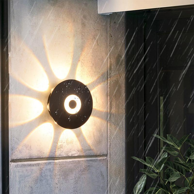 Outdoor Wall Lamps 4W/6W/8W LED Light Waterproof IP65 Porch Garden Lights Creative Indoor Bedroom Bedside Decor Lighting Lamp