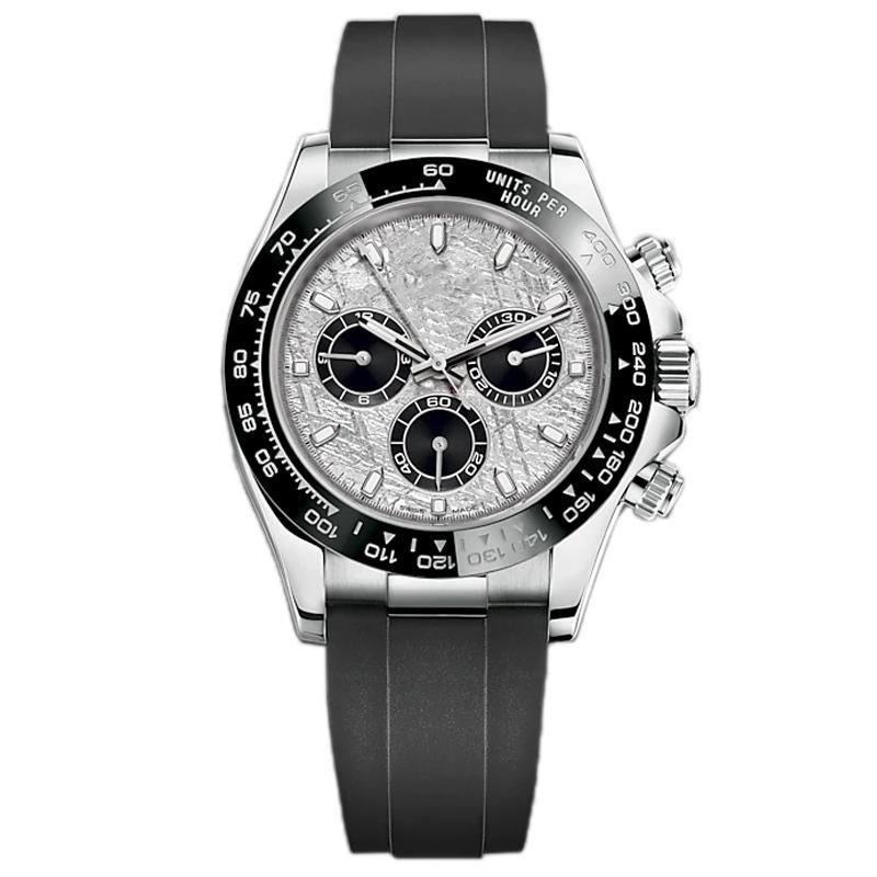 lmjli-2021 Montre de luxe 40mm Мужская автоматическая смета механические часы Sapphire стекло из нержавеющей стали небесно-голубой циферблат сплошной зажима Geneve U1 завод