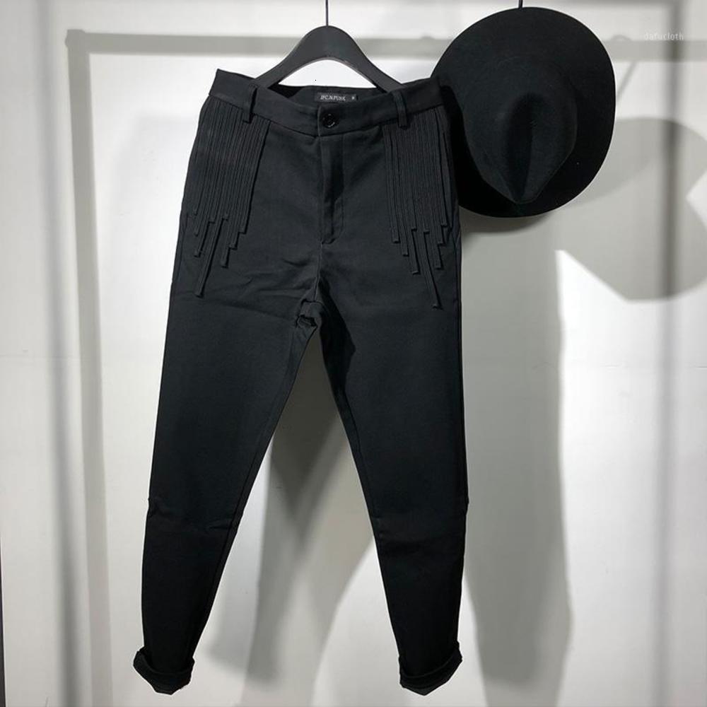 OWEN SEAK UOMO Pantaloni a matita Casual Pantaloni High Street Brontin Pantaloni Abbigliamento da uomo Abbigliamento da uomo Sweatpants Spring Harem1