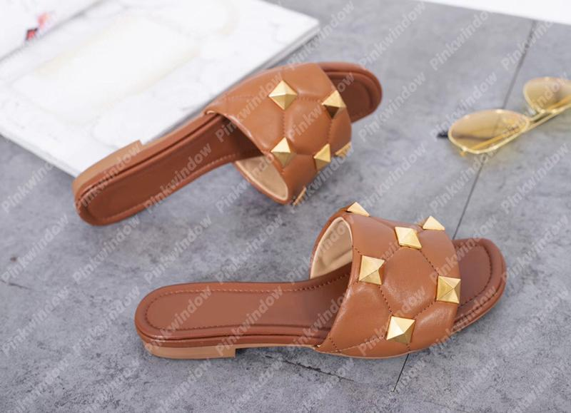 Sommerfrauen gleitet flache Slider Leder Sandalen Luxurys Designer Schuhe Slipper Plattform Hausschuhe Sandalias Keile Slide Sandales 21032002L