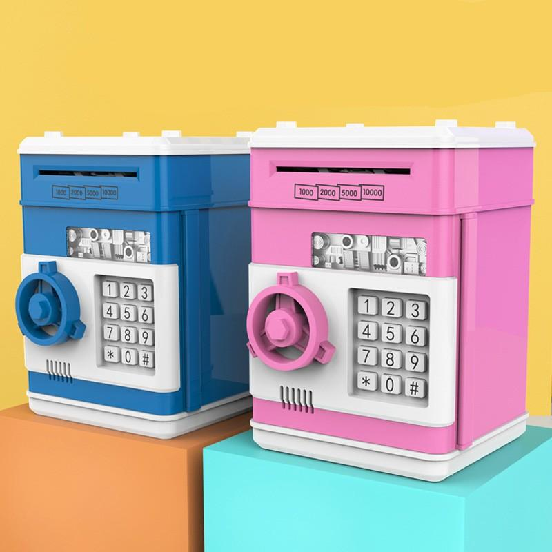 Электронная копилка банка банкомата пароль деньги коробка денежные монеты коробки подарок с автоматическим спасением банк банкнота банкомат безопасную музыку h8e5 682 v2