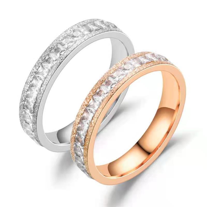 Titanium Stainless Steel Ring Jewelry Wholesale Couples Rings
