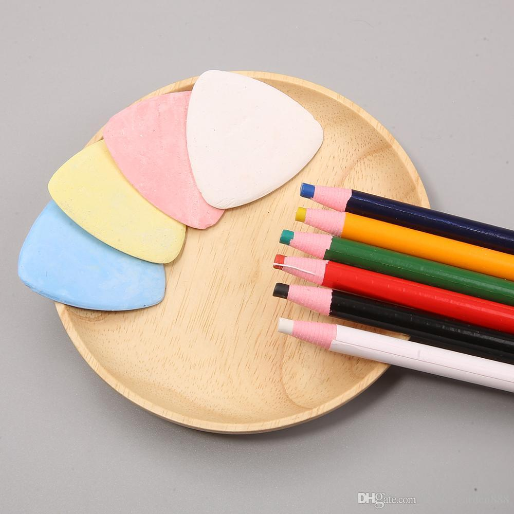 High Quality Fabric Chalk Tailors Erasable Dressmaker Sewing Markers DIY Patchwork Clothing Pattern Tool Needlework Accessories