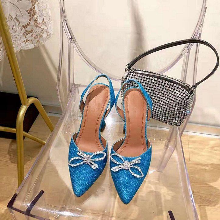 2021 moda rahat külkedisi kristal mizaç sandalet güzel, bu bir çift sıradan ayakkabı değil, onu giyiyor, gerçekten mutlu